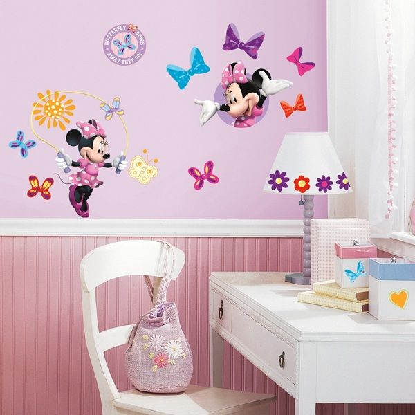 Minnie Mouse Bow-Tique Wall Decal
