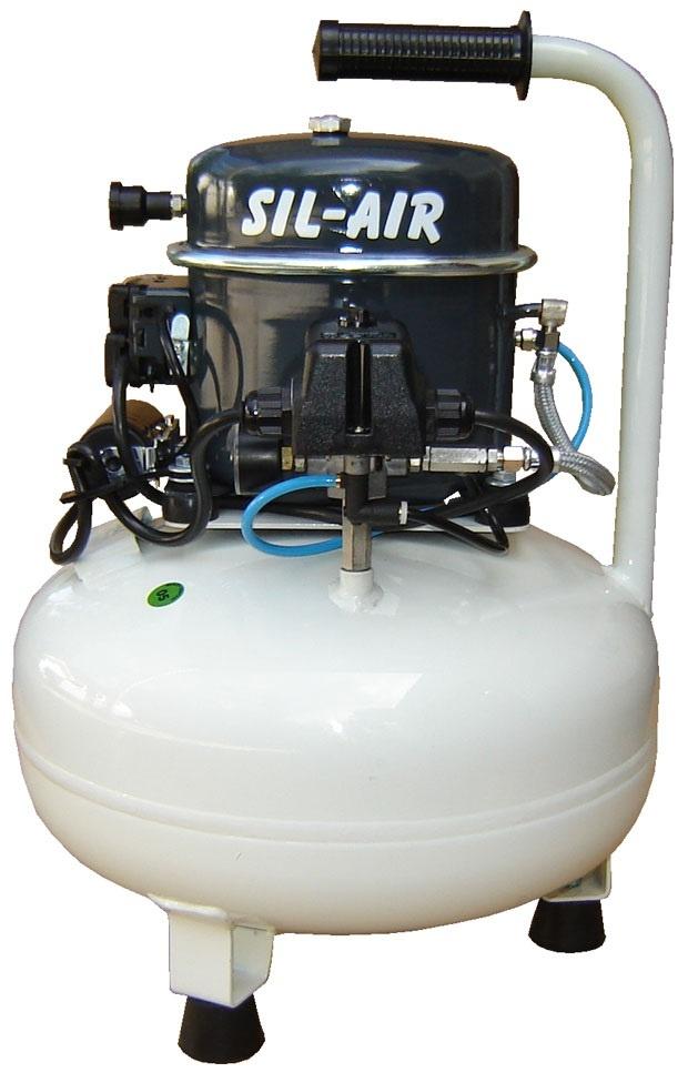 Silentaire Sil-Air 50-15 Silent Running Airbrush Compressor, Portable Air Compressor