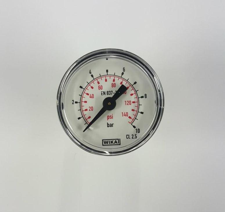 "Silentaire Rear-mounted Pressure Gauge: 1/8"" NPT"