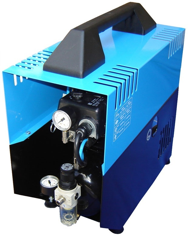 Silentaire Super Silent DR-300 Silent Runnig Airbrush Compressor, Portable Air Compressor