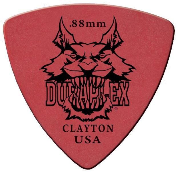 Steve Clayton™ Duraplex Pick: Rounded Triangle