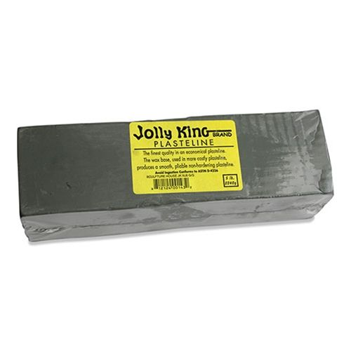 Jolly King Plasteline - Grey-green - 5 Lbs.