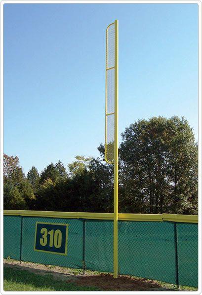 SportsPlay Baseball Foul Pole without Wing - Baseball Field Equipment