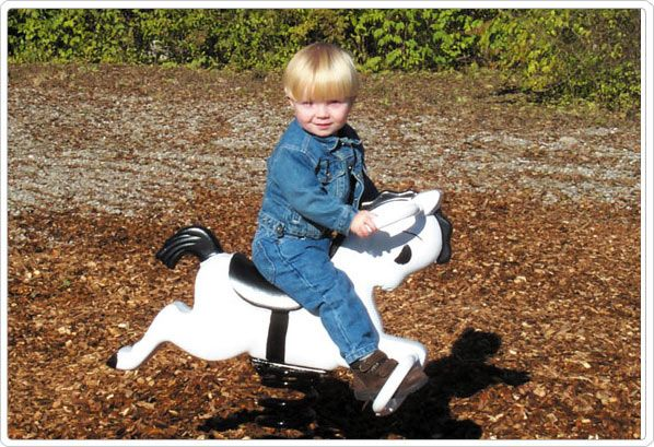 SportsPlay Mustang Spring Rider: 2 to 5 years old