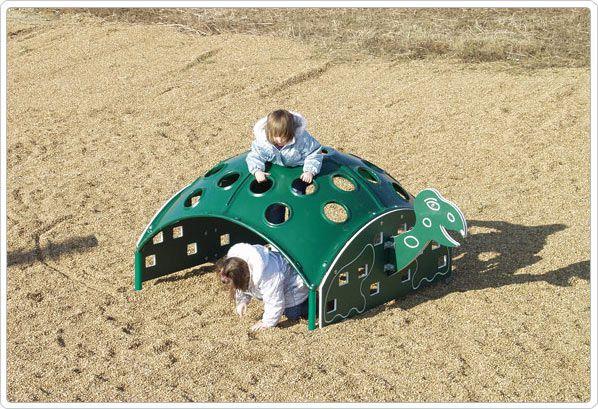 SportsPlay Turtle Climber: 3' x 3' x 8' - Playground Climbing Structures