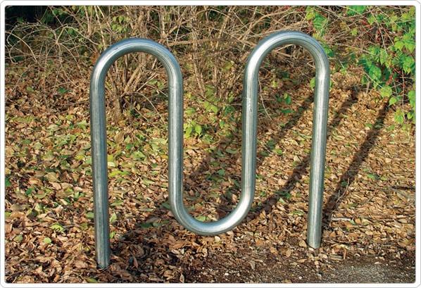 SporstPlay M Style Bike Rack: Permanent - Playground Equipment