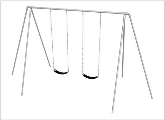 SportsPlay 10' Primary Tripod Swing: 2 Seats - Playground Swing Set