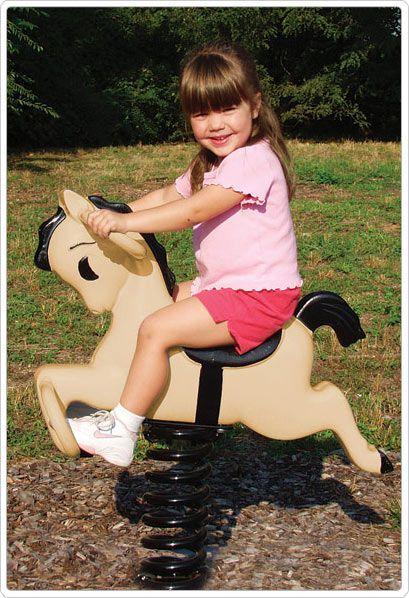 SportsPlay Bronco Spring Rider - Playground Spring Rider Toys