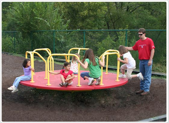 SportsPlay Merry Go Round: 10' - Playground Roundabouts