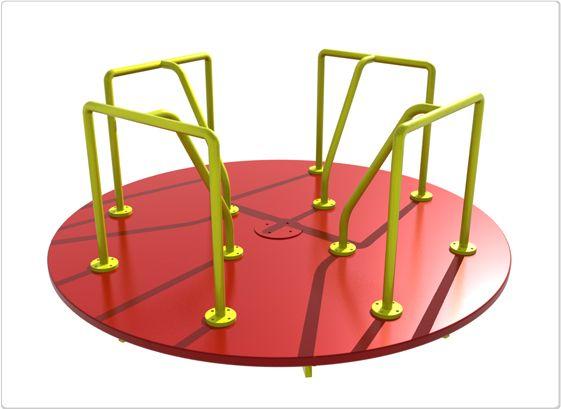 SportsPlay Merry Go Round: 8' x 8' - Playground Roundabouts