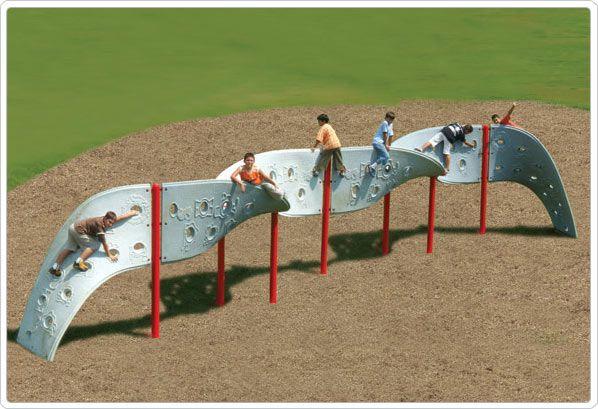 SportsPlay Corkscrew Aztec Climber - Climbing Playground Equipment