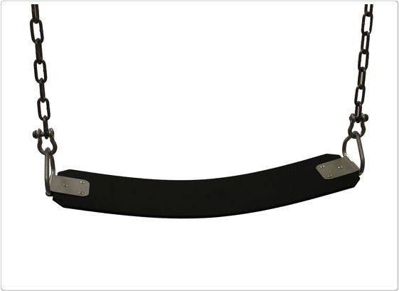 SportsPlay Cut Proof Belt Seat: Black - Swing Set Accessories