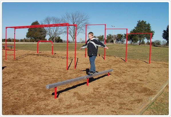 SportsPlay Aluminum Balance Beam - Playground Fitness Equipment