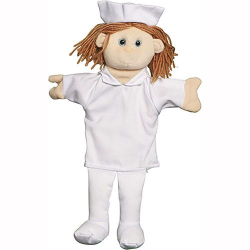 "12"" Nurse ( Palm Puppet)"