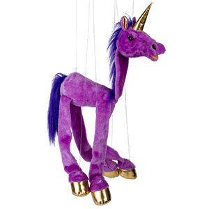 "38"" Large Purple Unicorn"