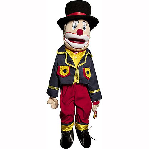 """28"""" Clown With Hat"""