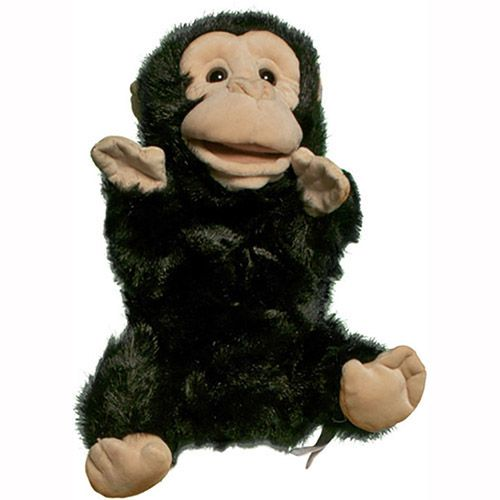 "12"" Chimp Puppet"