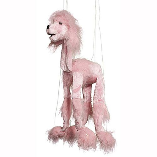 Sunny Toys Poodle Puppet Toy