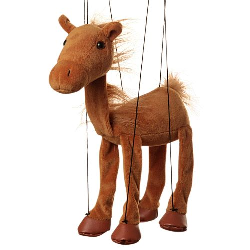 Sunny Toys Horse Puppets Collection