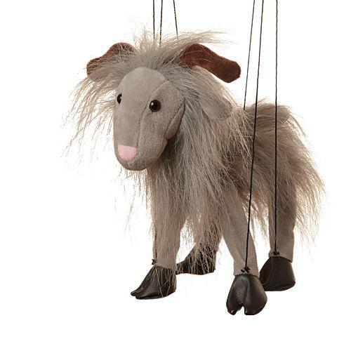 "16"" Baby Grey Goat"