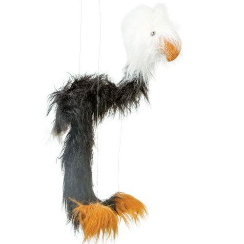 """38"""" Black Bald Eagle"""