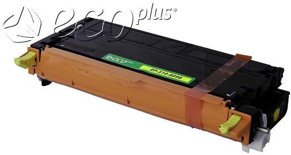 Dell OEM 3108098, 3108401, 59310173 Ecoplus Remanufactured Toner Cartridge: Yellow, 8K Yield