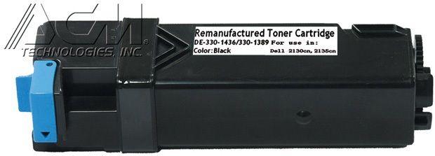 Dell OEM 3301389, 3301436 Compatible Toner Cartridge: Black, 2.5K Yield