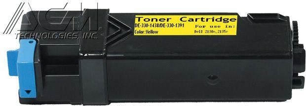 Dell OEM 3301391, 3301438 Compatible Toner Cartridge: Yellow, 2.5K Yield