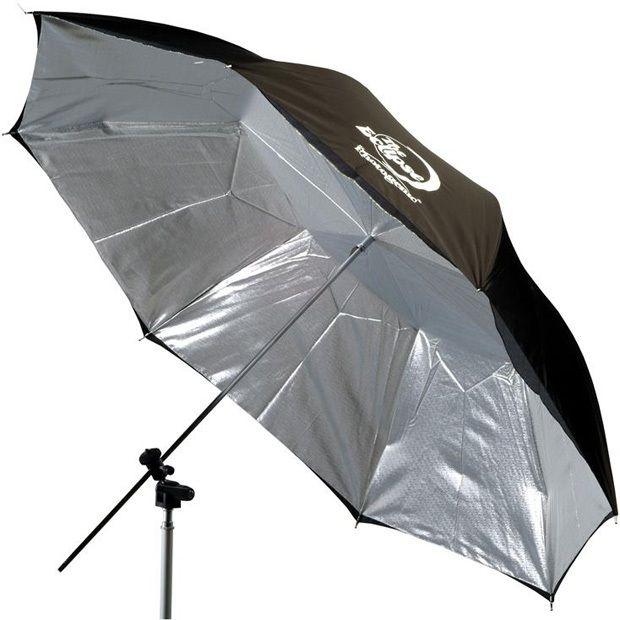 "Photogenic EC32S/909172 Eclipse 32"" Silver Flat-Panel Umbrella"