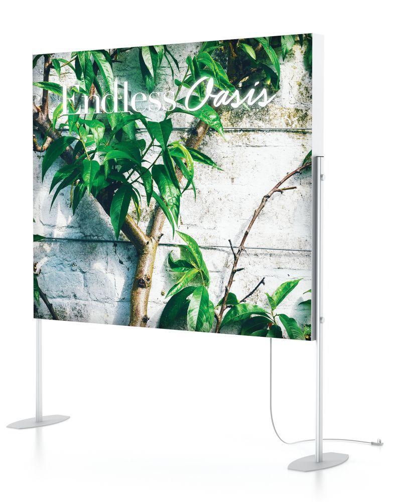 Charisma Seg/led Light Box Elevated Stands™