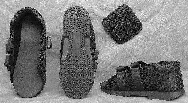 Tetra Medical Supply Post-Op Shoe: Male, Different Sizes