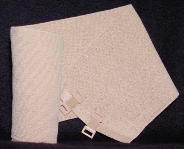 "Tetra Medical Supply Lymph-Wrap Short Stretch Bandage: 2.3"" x 5.4yd (6 cm x 5 m), Pack of 10"