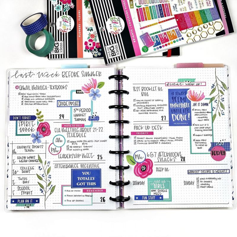 Value Pack Stickers - Brights - Skinny Classic
