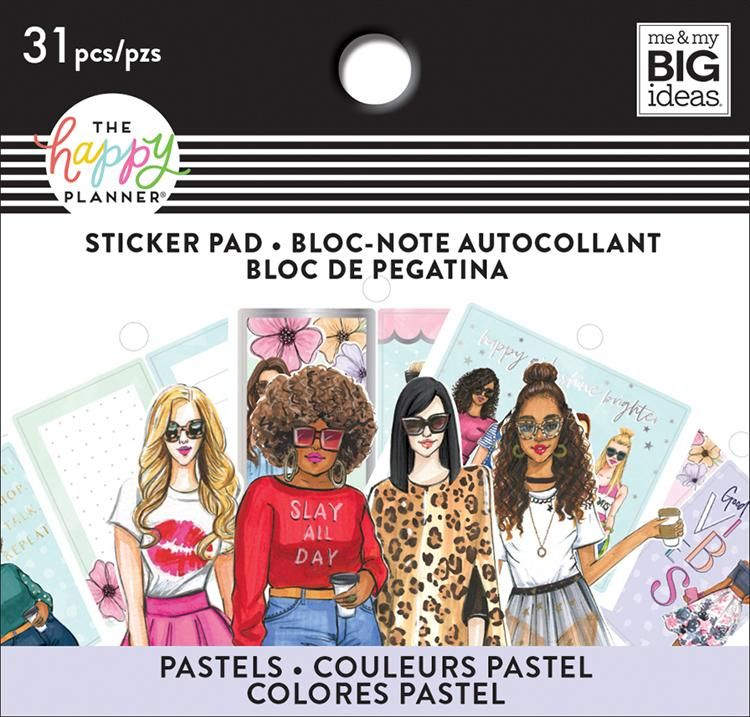 Tiny Sticker Pad - Rongrong - Pastel