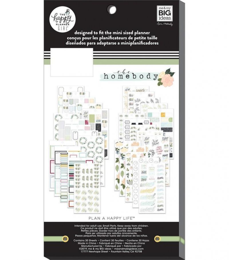 Value Pack Stickers - Homebody - Mini
