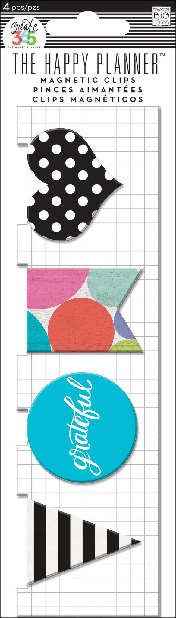Magnetic Page Clips - Grateful