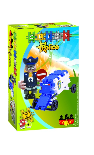 Policeman & Police Car
