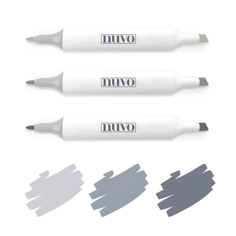 Tonic Studios Nuvo Pen Collection - Dual Broad Tip