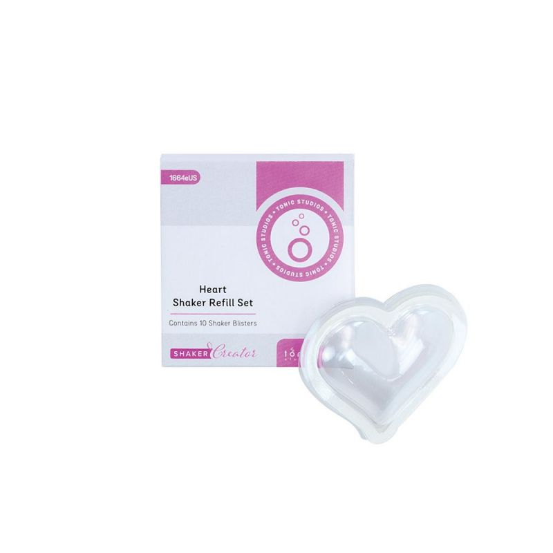Tonic Studios Essentials - Heart (Die Cut, Stamp and fill)