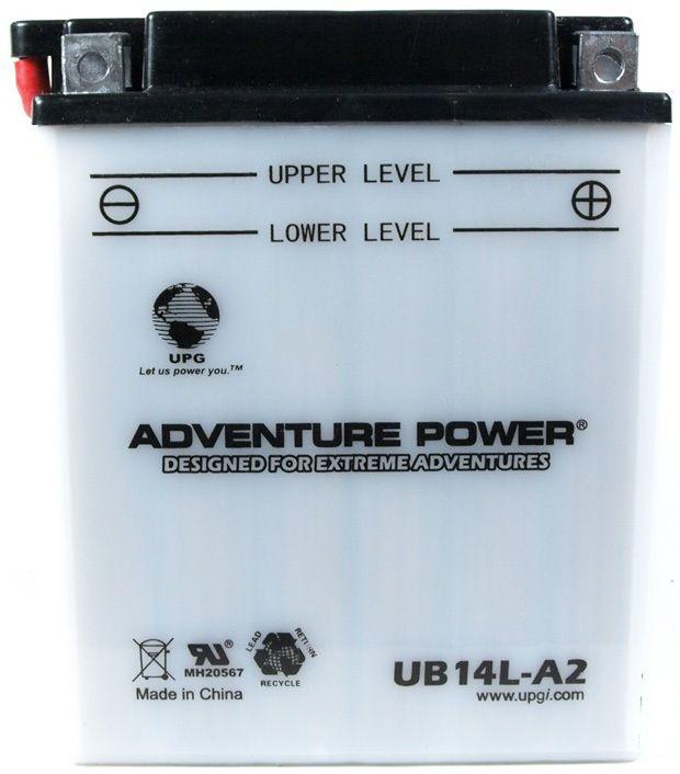 UPG Adventure Power Lead-Acid Conventional: UB14L-A2, 14 AH, 12V
