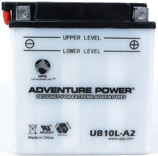 UPG Adventure Power Lead-Acid Conventional: UB10L-A2, 11 AH, 12V