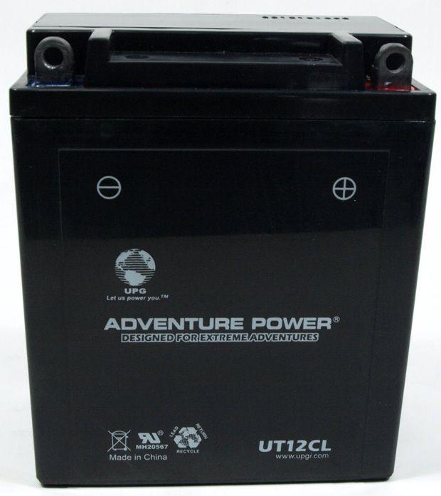 UPG Adventure Power Sealed Lead Acid: UT12CL, 12 AH, 12V
