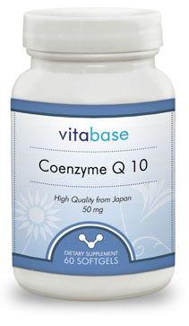 Vitabase CoQ10 Softgels (50 Mg)