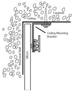 Walker Ceiling Mounting Kit