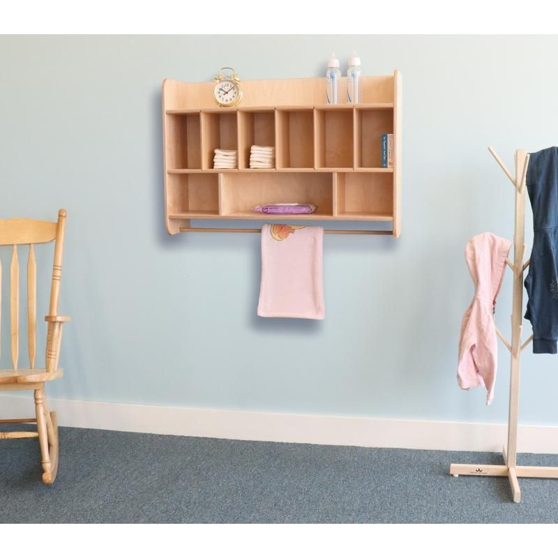 Wall Mounted Diaper Storage