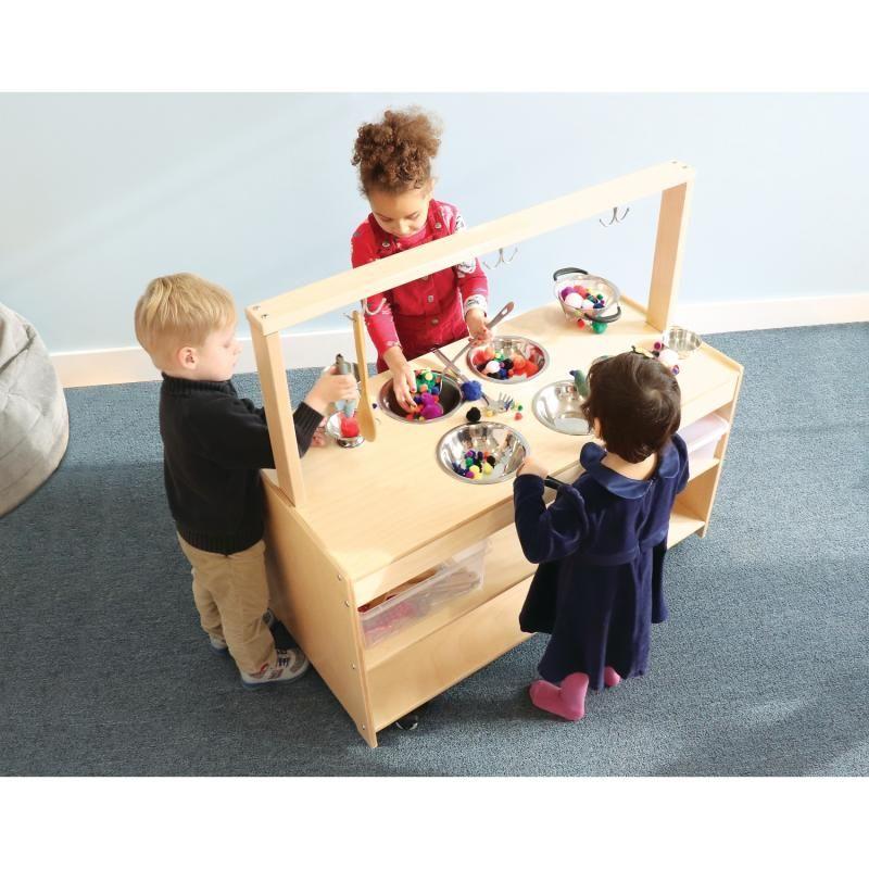 Mobile Sensory Play Kitchen