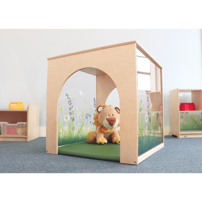 Nature View Play House Cube And Mat Set