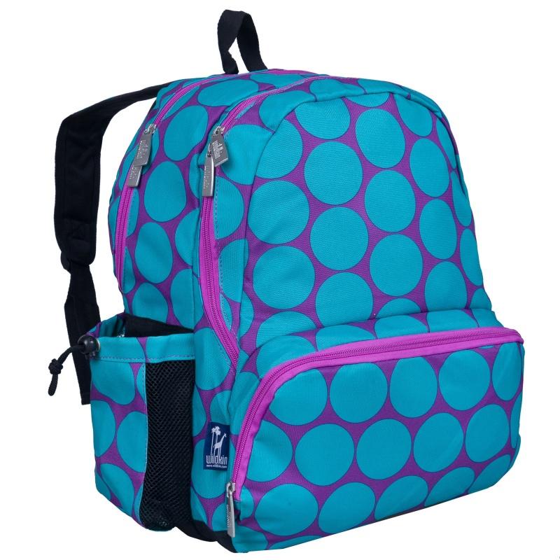 Wildkin Big Dot Aqua Kids Bags