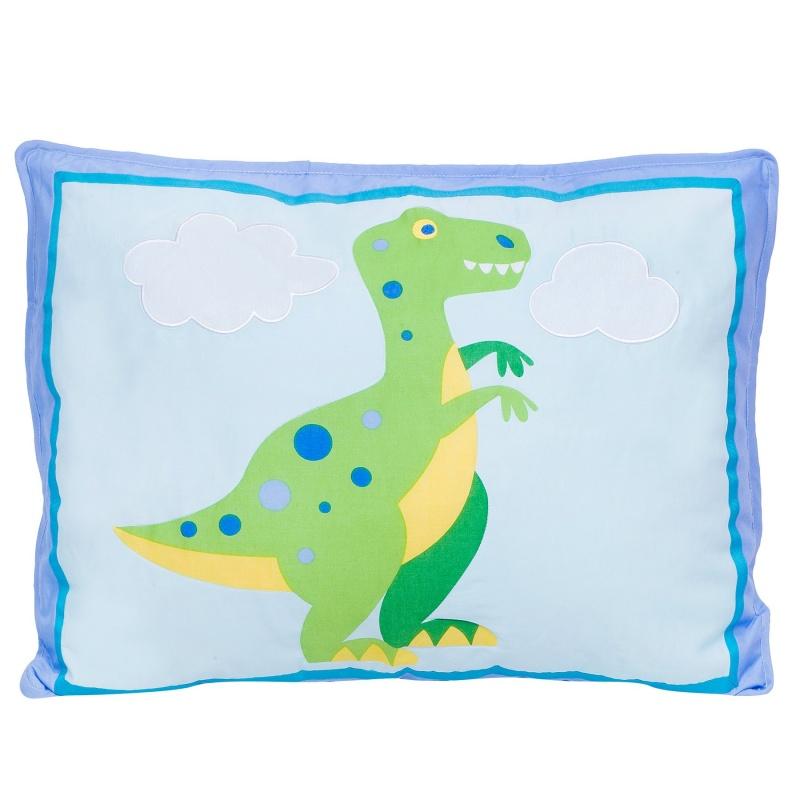Dinosaur Land Cotton Pillow Sham