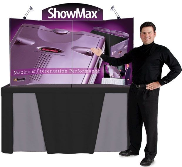ShowMax Self-Packing Tabletop: Purple